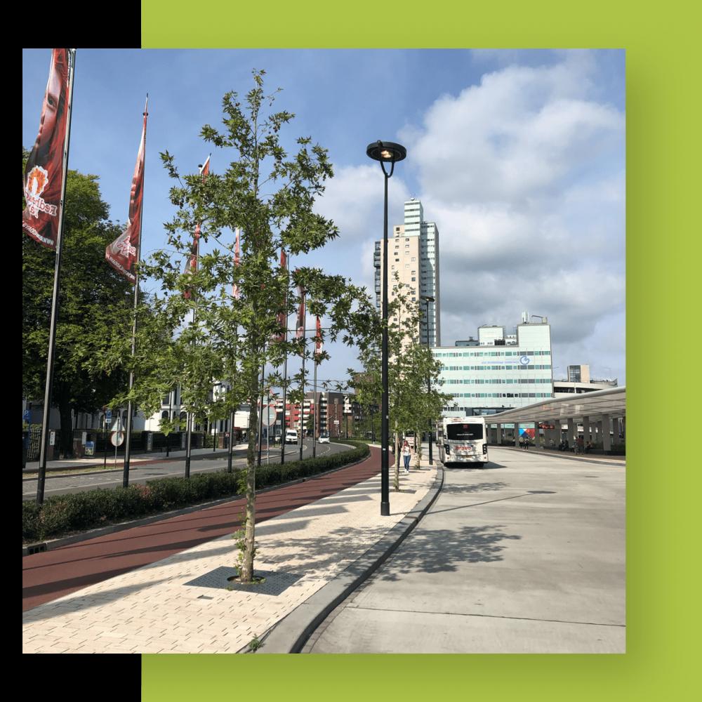Groenproject in de stad